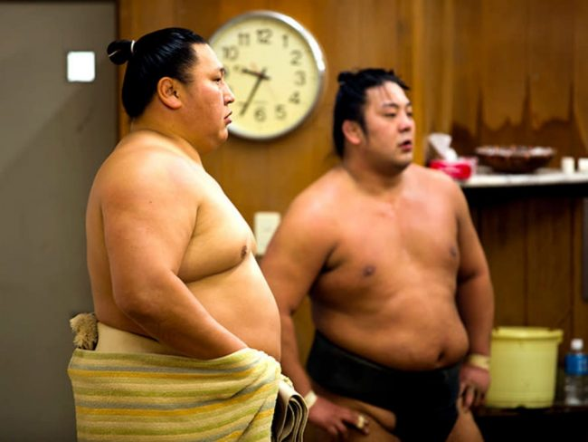 Sumo Training in Tokyo at a Sumo Stable The Real Japan Rob Dyer