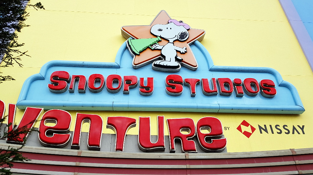 Universal Wonderland Snoopy Universal Studios japan USJ The Real Japan Rob Dyer
