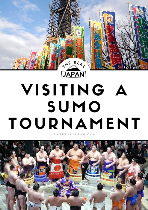 Visiting A Sumo Tournament The Real Japan Rob Dyer