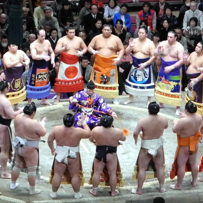Sumo Wrestling Tournament Tickets The Real Japan