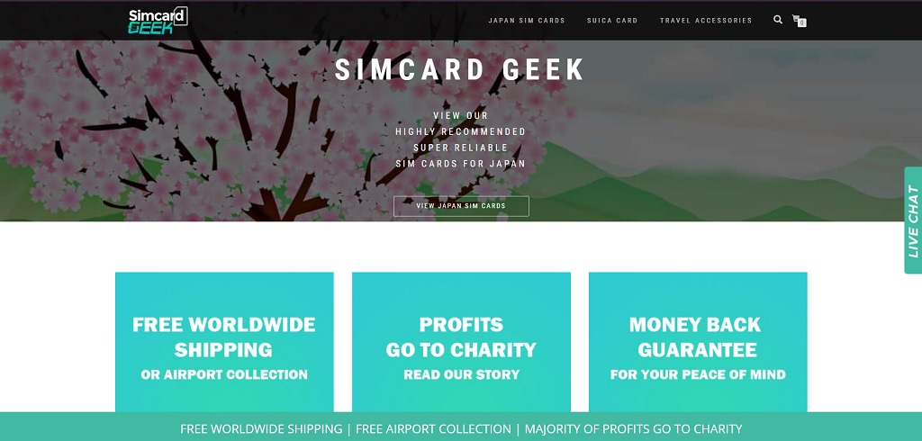 Simcard Geek site The Real Japan travel resources