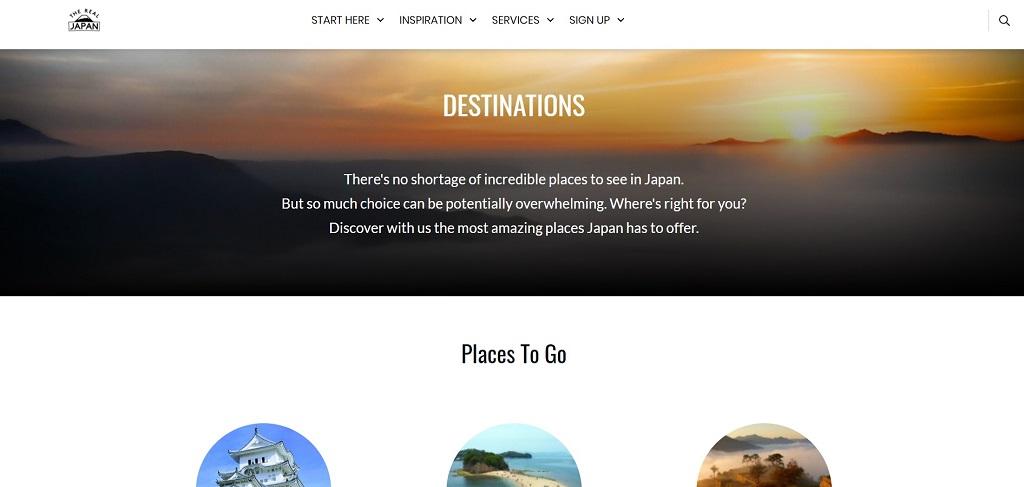 The Real Japan Destinations Hub Rob Dyer