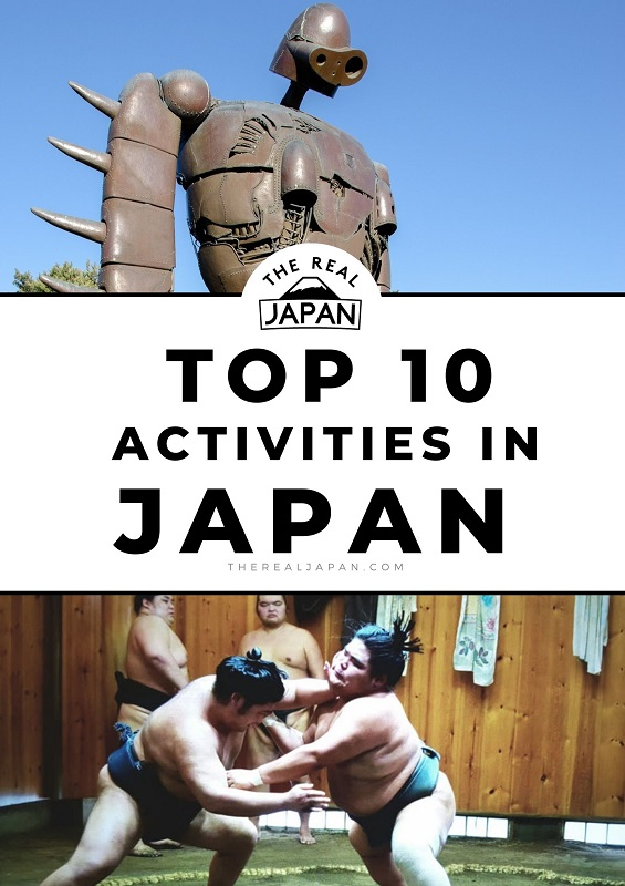 Top 10 most popular activities in Japan The Real Japan Rob Dyer
